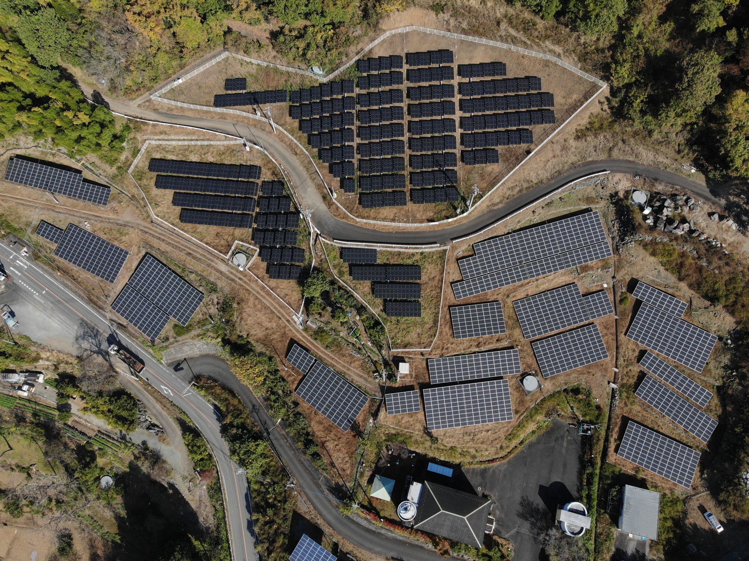 太陽光発電 ドローン点検