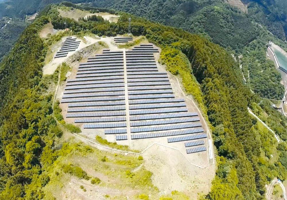 第一鬼石太陽光発電所