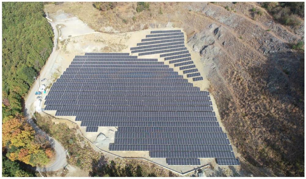 第二鬼石太陽光発電所
