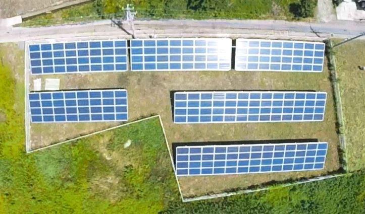安中市板鼻A太陽光発電所
