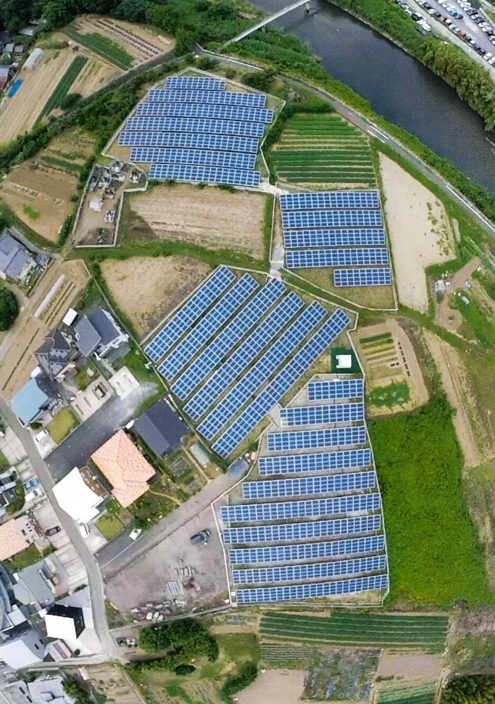 高崎市綿貫町太陽光発電所