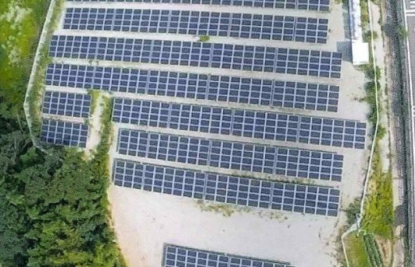 前橋市総社町植野太陽光発電所