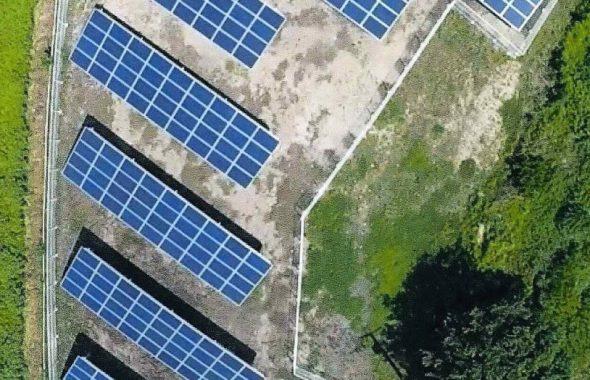 前橋市青柳町太陽光発電所