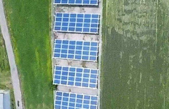 前橋市北代田町太陽光発電所